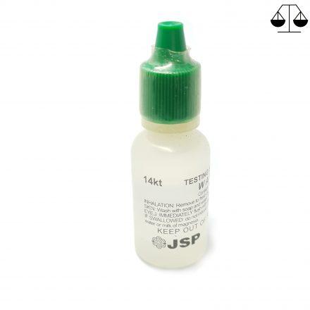 Toetswater voor 14 Karaat Goud Test
